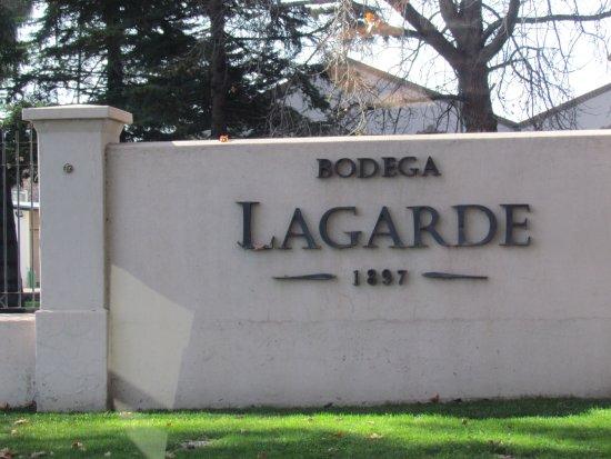Lujan de Cuyo, Argentinië: Bodega Lagarde