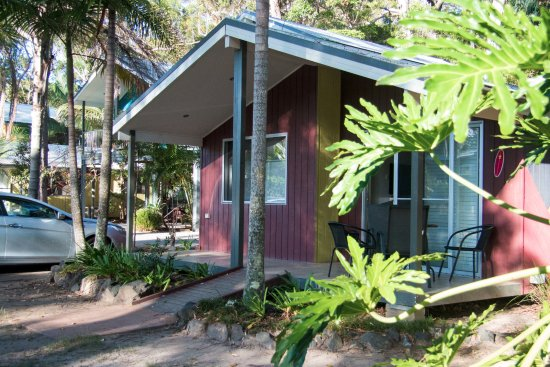 Nambucca Heads, Австралия: Our 2-bdrm Surf Shack with front porch