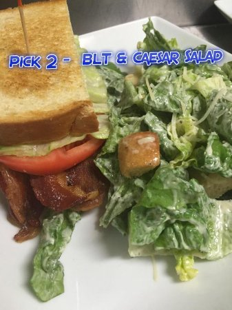 Troy, MO: Pick 2 - BLT & Caesar Salad