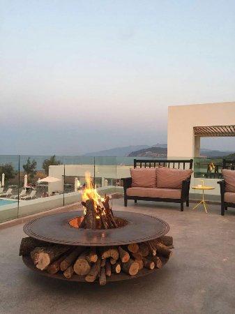 Agia Anna, اليونان: Baxe Restaurant