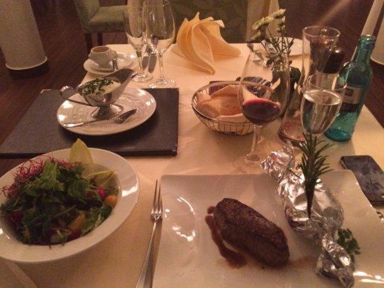 Werder upon Havel, Tyskland: My dinner!