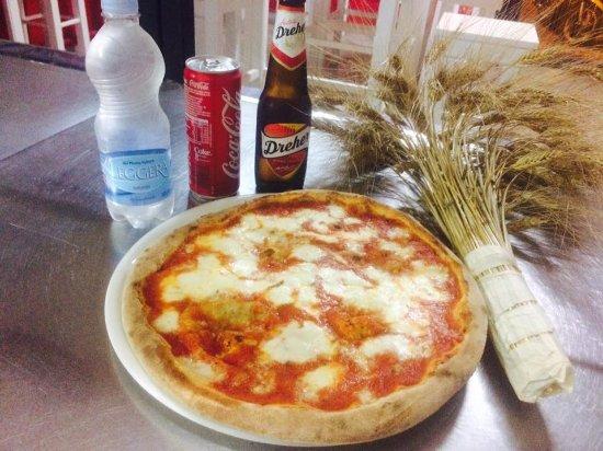Maglie, Italia: PIZZA CON MORINGA