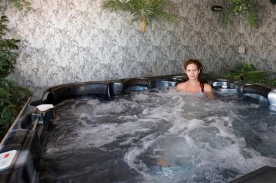 Ashburton, Selandia Baru: ASURE Adrcoft Motel Spa Pool