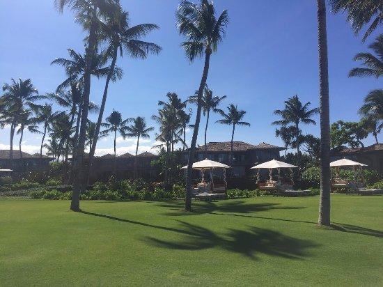 Four Seasons Resort Hualalai: Waterfront villas at four seasons