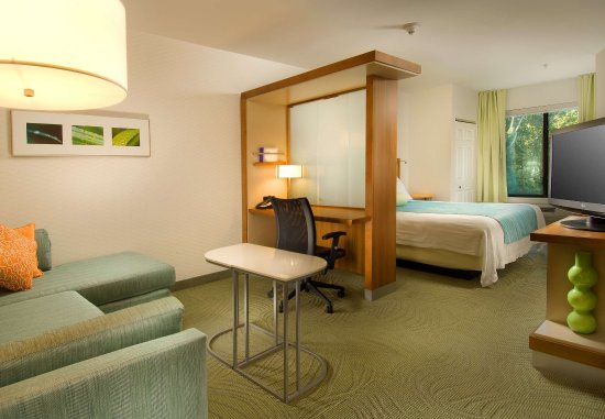 SpringHill Suites Alexandria: King Suite with Living Area