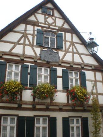 Marbach am Neckar, Германия: Schillers Geburtshaus