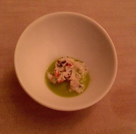 Azul at Mandarin Oriental: Alaskan King Crab recipe...