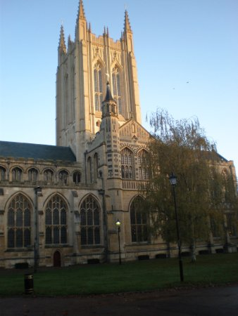 Bury St Edmunds, UK: St. Edmundsbury Cathedral