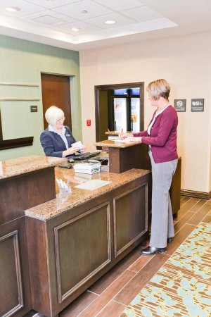 Exeter, NH: Front Desk