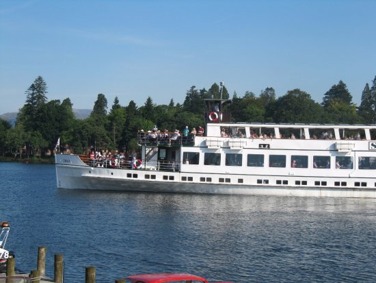 Bowness-on-Windermere, UK: large ferry