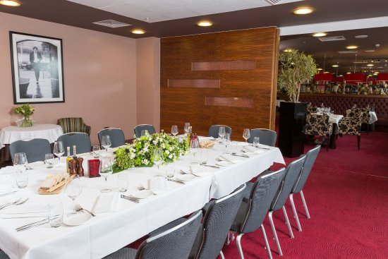 Salford, UK : Priviate Dining Room