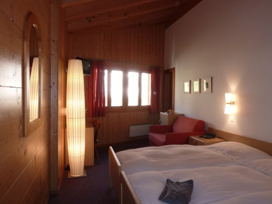 Bettmeralp, Suisse : Double room standard north
