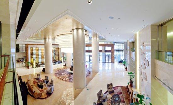 Xiangyang, Kina: Hotel Lobby