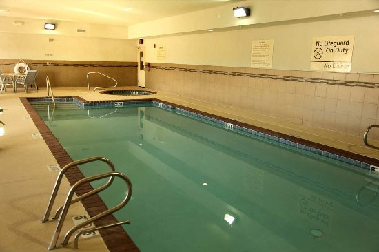 Hampton Inn & Suites Carlsbad: Pool and Spa