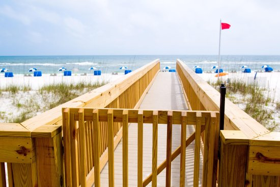 Hampton Inn & Suites Orange Beach: Beach Access