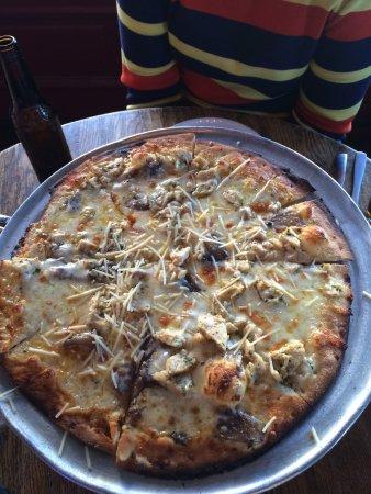 McKinney, Teksas: Pizza Bianca w Chicken
