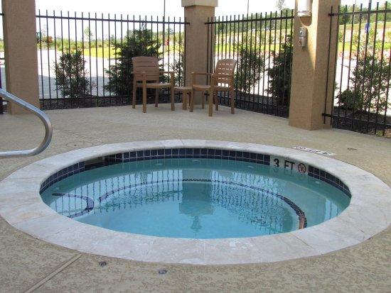 Center, تكساس: Outdoor Whirlpool