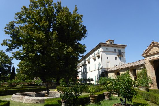Villa Aureli from the gardens