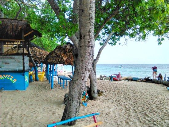 Isla Baru, Κολομβία: Playa Blanca