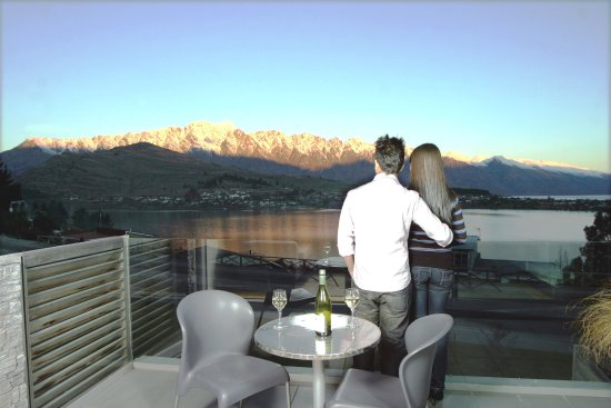 Pounamu Apartments: View from 1 & 2 Bedroom Apartment