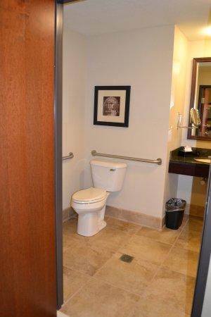 Guest Bathroom at Holiday Inn Eau Claire South