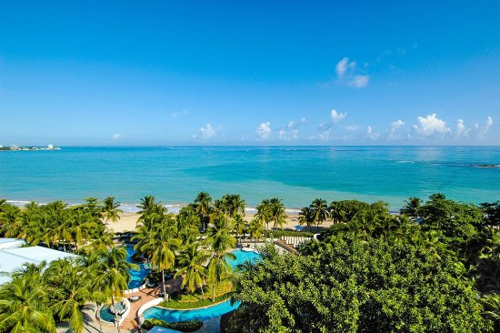 El San Juan Resort & Casino, A Hilton Hotel: Isla Verde Beach