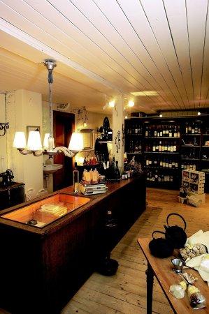Boutique Hotel Schluessel: Gourmet shop