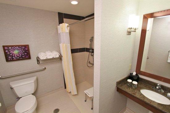 Covington, LA: Accessible Guest Room Bath Room