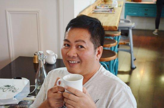 Эннис, Ирландия: Cafe latte