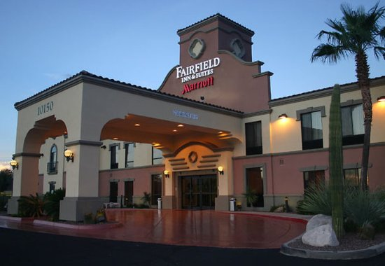 Fairfield Inn & Suites Tucson North/Oro Valley: Entrance