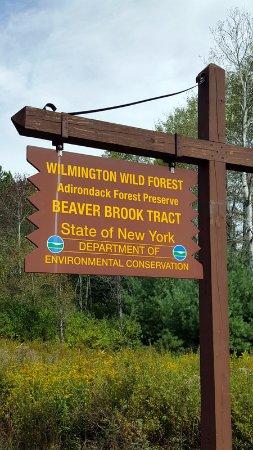 Wilmington, État de New York : Trail Marker