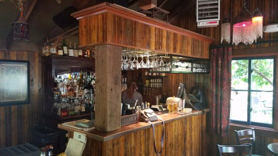 Bothell, WA: The bar in The Shed