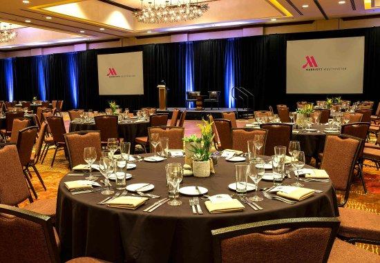 Westminster, CO: Marriott Ballroom - Banquet Setup