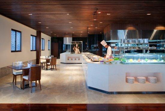 Radisson Blu Resort Wetland Park Wuxi: Restaurant