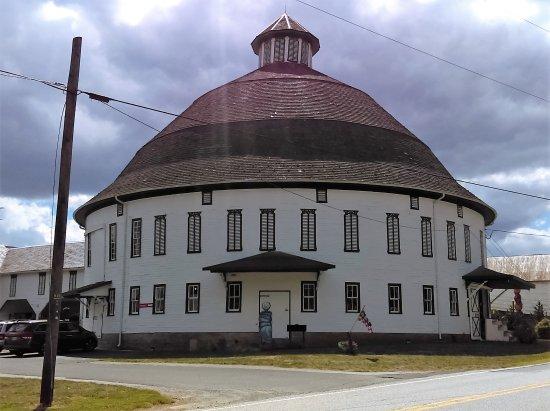 Biglerville, بنسيلفانيا: Round Barn
