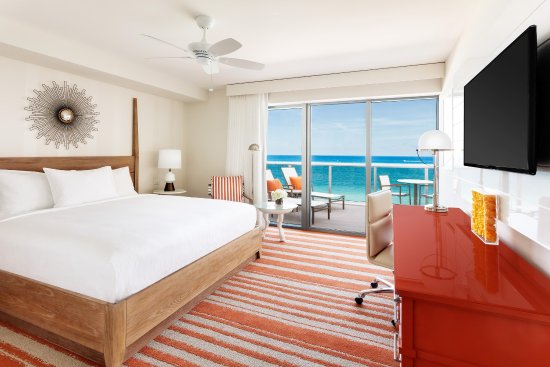 Hilton Cabana Miami Beach : Oceanfront King Room