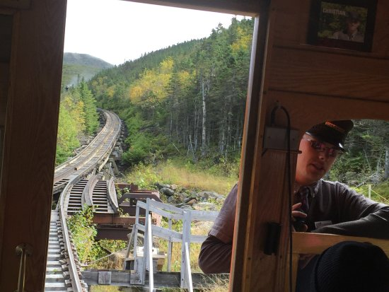 Bretton Woods, NH: Paused at the switching place