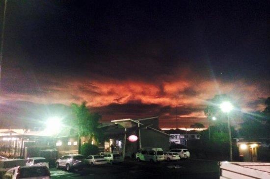 Dalby, Australia: The Leaguesy at sunset