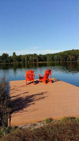 Port Sydney, Canadá: A peaceful spot to view early fall colours