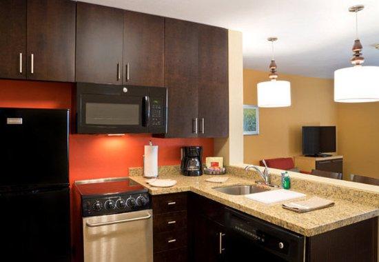 Garden City, Κάνσας: Suite Kitchen