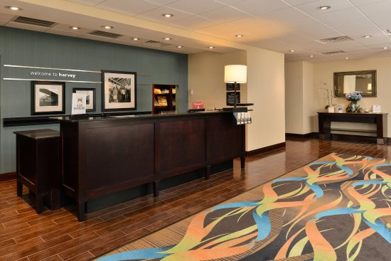 Hampton Inn & Suites Harvey/New Orleans West Bank: Lobby