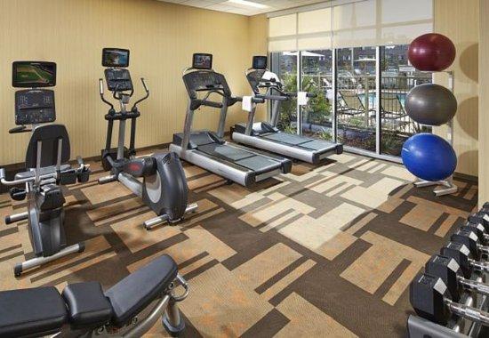 Sunnyvale, Californien: Fitness Center