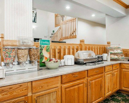 Brownsburg, Ιντιάνα: Breakfast area