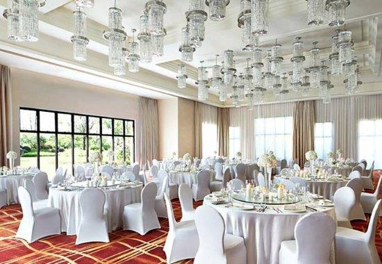 Huizhou, China: Crystal Ballroom – Wedding Setup