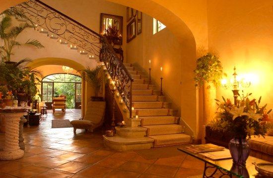 Villa Ganz: Lobby