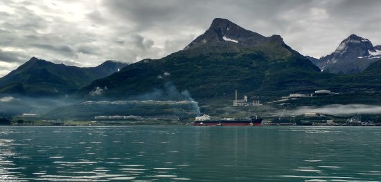 Valdez terminal for the Alaska Pipeline