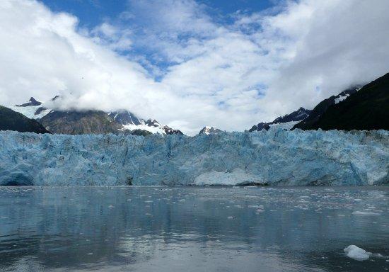 Valdez, AK: Partial view of Meares Glacier