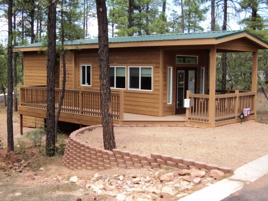 Show Low, Аризона: New Park Model Cabins For Sale