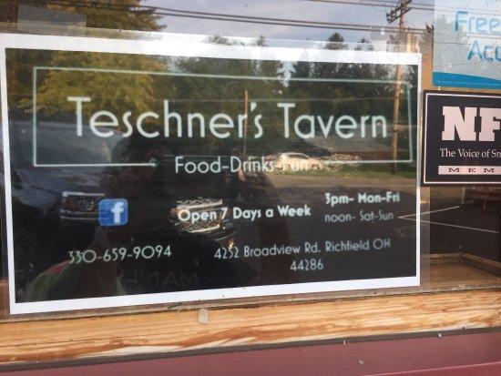 Richfield, OH: restaurant info