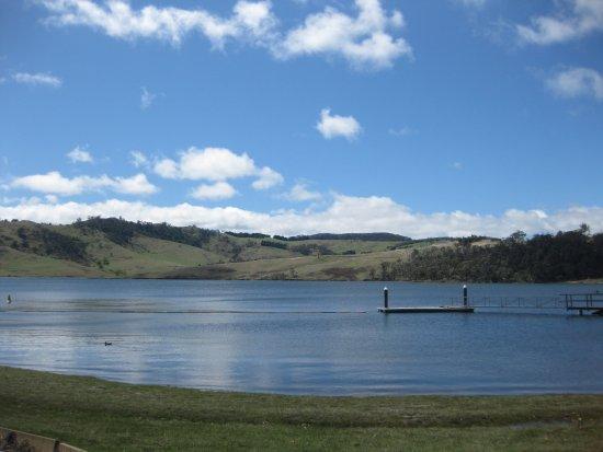 Lithgow, Australia: lake Lyell